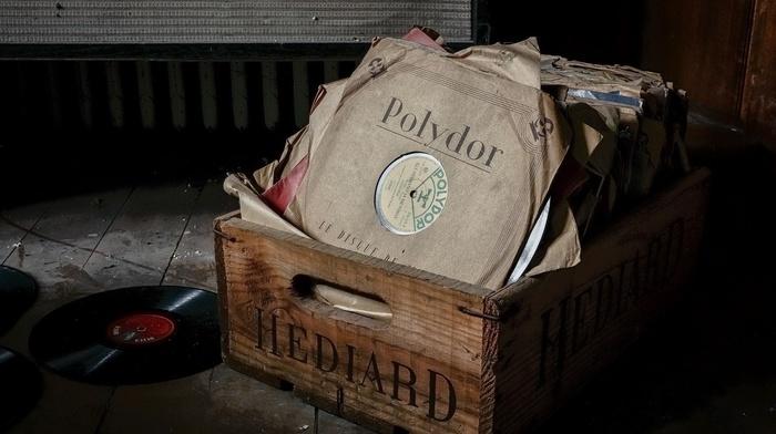 paper, dust, vinyl, dirt, abandoned, music, vintage, wood