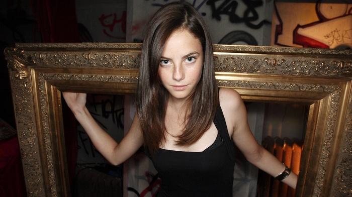 Kaya Scodelario, brunette, celebrity, looking at viewer, girl, actress