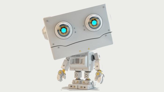 digital art, artwork, robot