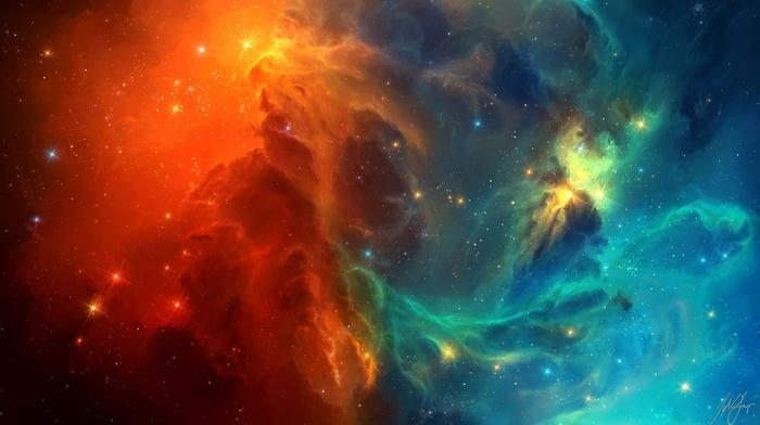 TylerCreatesWorlds, space, galaxy, stars