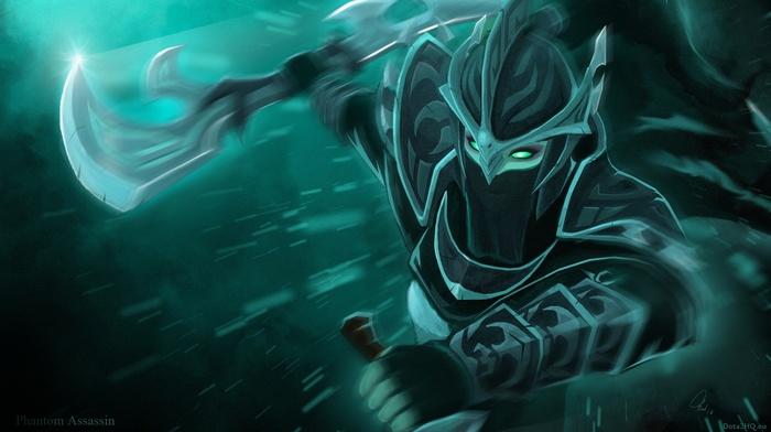 Dota Heroes Phantom Assassin Valve Corporation 2 Defense Download Wallpaper