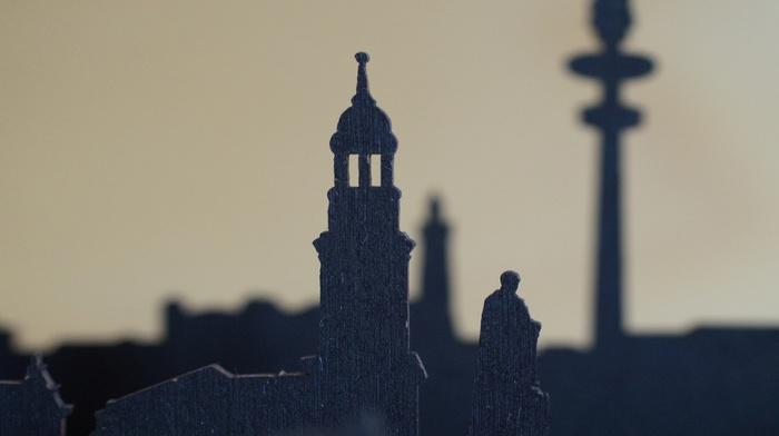 concept art, silhouette