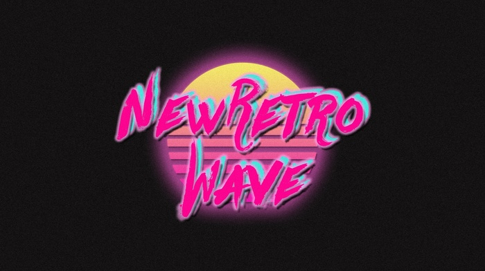 vintage, neon, New Retro Wave, synthwave, retro games, 1980s