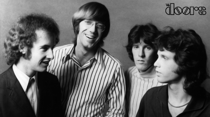 monochrome, rock  roll, music, The Doors Music, Jim Morrison