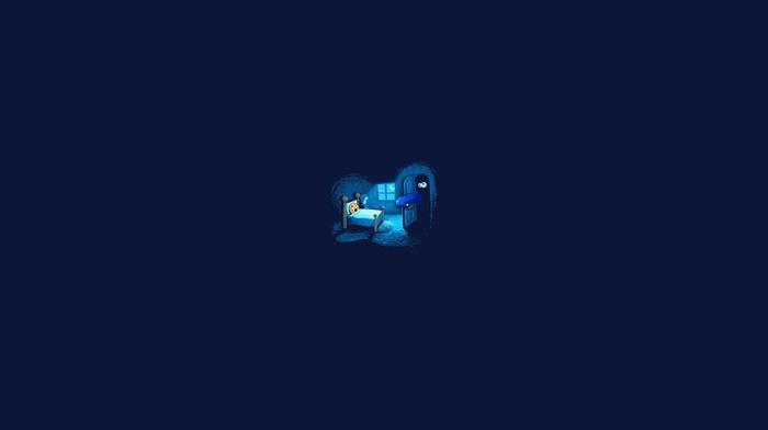 minimalism, humor, Cookie Monster