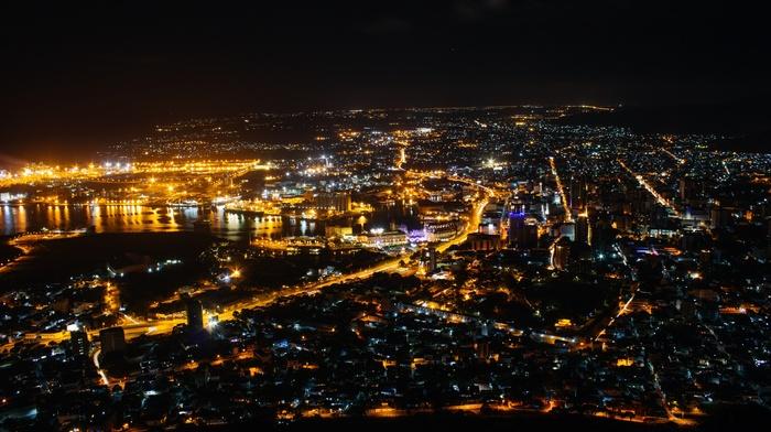 lights, artificial lights, street light, city