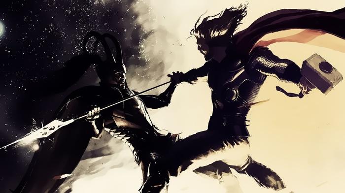 Thor, loki, Marvel Comics