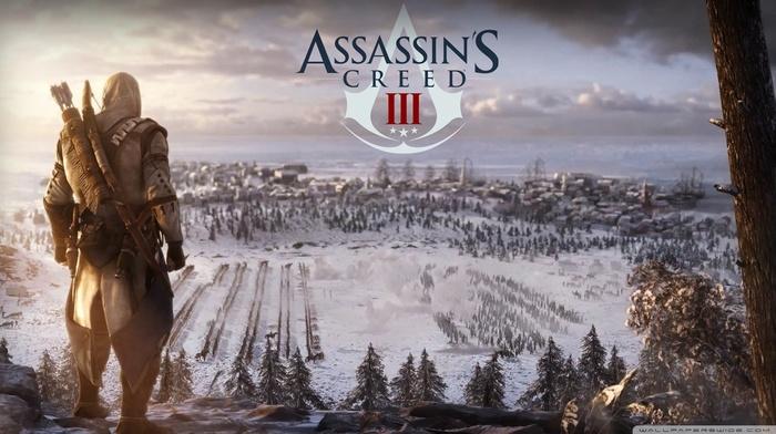 Ubisoft, video games, Assassins Creed III, winter, Assassins Creed