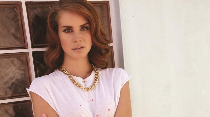 auburn hair, Lana Del Rey, singer, girl, celebrity