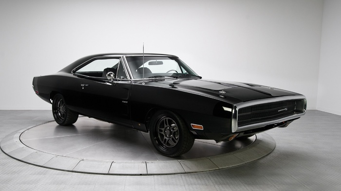 black, American cars, car, muscle cars, Dodge, Charger RT, Dodge Charger RT