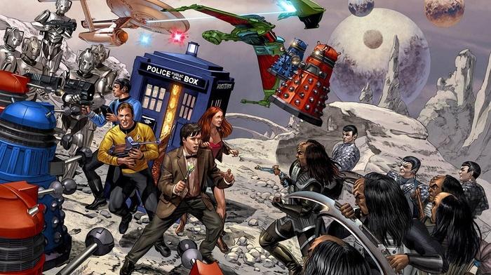 crossover, Doctor Who, Star Trek