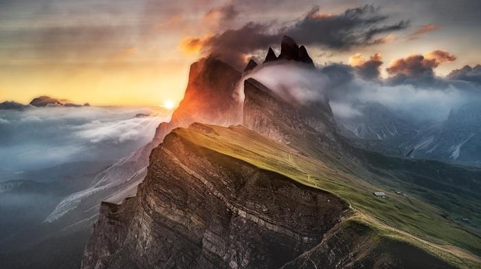 nature, mountains, Dolomites mountains, landscape