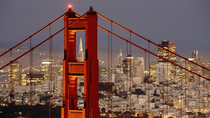san francisco, cityscape, photography, city, golden gate bridge