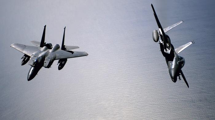 F15 Eagle, photography, military aircraft, aircraft, airplane, US Air Force, f, 15 Strike Eagle
