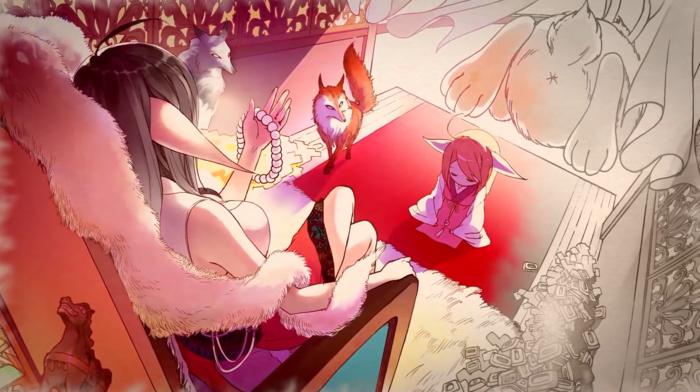 anime, fox, fox spirit matchmaker
