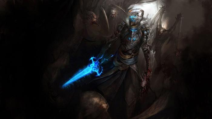 Dead Space, Isaac Clarke, concept art, video games, sword