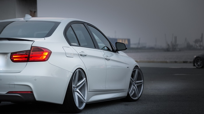 wheels, BMW, vehicle, stance, camber, white cars, car, simple