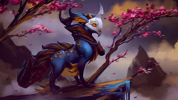fantasy art, Dota 2, creature, Dota 2 Courier, hero, Defense of the ancient, Dota, Valve, Valve Corporation