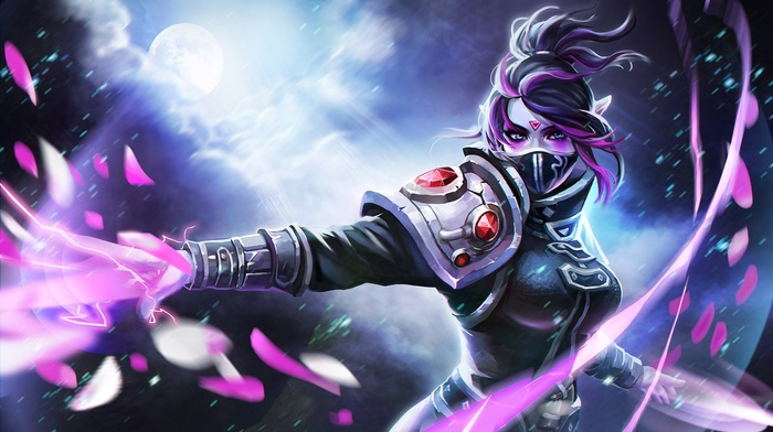 Templar Assassin, Valve, girl, video games, Dota, Valve Corporation, Defense of the ancient, Lanaya, Dota 2, magic, hero
