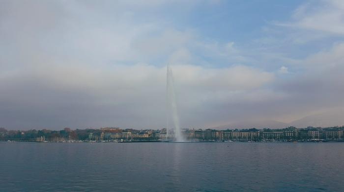sky, Switzerland, photography, landscape, Romandy Switzerland, mountains, architecture, cityscape, Geneva, city, water