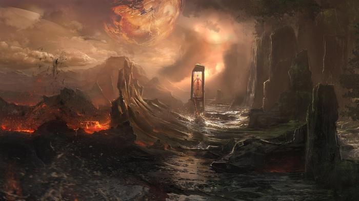 artwork, fantasy art, landscape