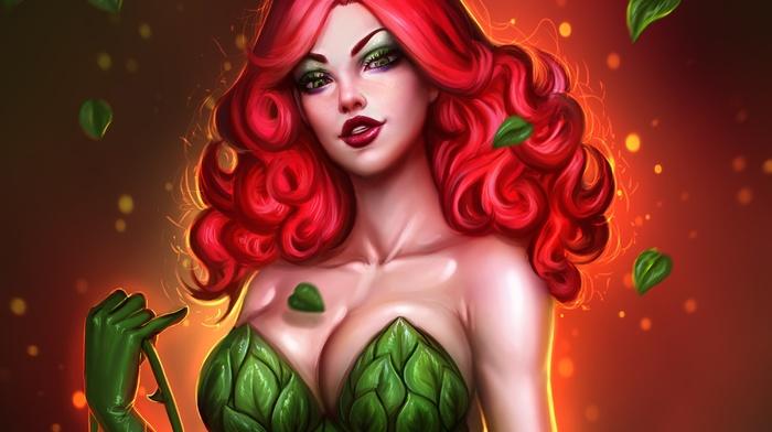 artwork, Poison Ivy, DC Comics