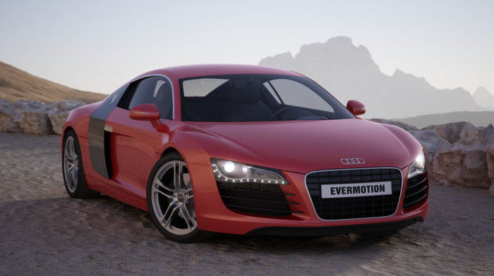 evermotion, Audi, car
