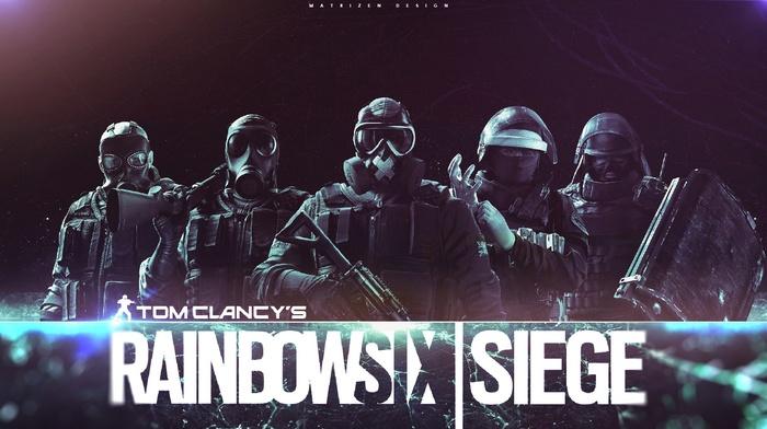 Rainbow Six, army, rainbowsix siege, digital art, dark, video games, soldier, special forces
