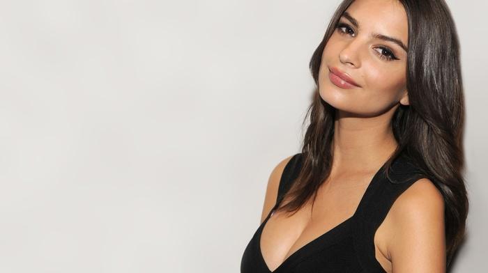 Emily Ratajkowski, model, girl, brunette