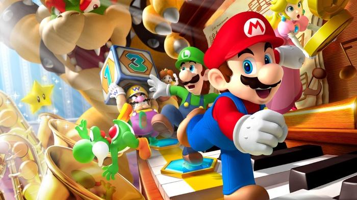 Wario, Super Mario, Princess Peach, Nintendo, bowser, Luigi, Daisy, Yoshi