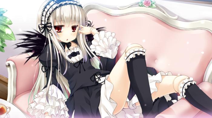Suigetsu, lolita fashion, anime, anime girls, Rozen Maiden
