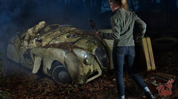 car, old car