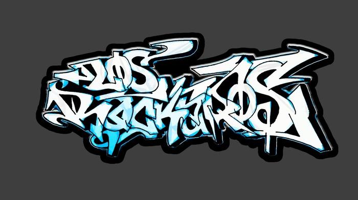 digital art, street art, Los Rockeros, photoshop, 2maek, graffiti