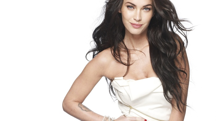 actress, smiling, girl, Megan Fox, brunette, celebrity