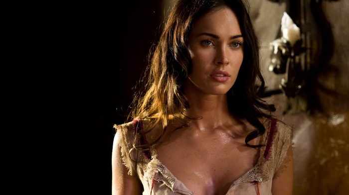 brunette, girl, Megan Fox, actress