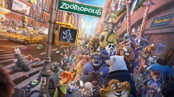 judy hopps, Disney, movies, nick wilde, Zootopia, Benjamin Clawhauser