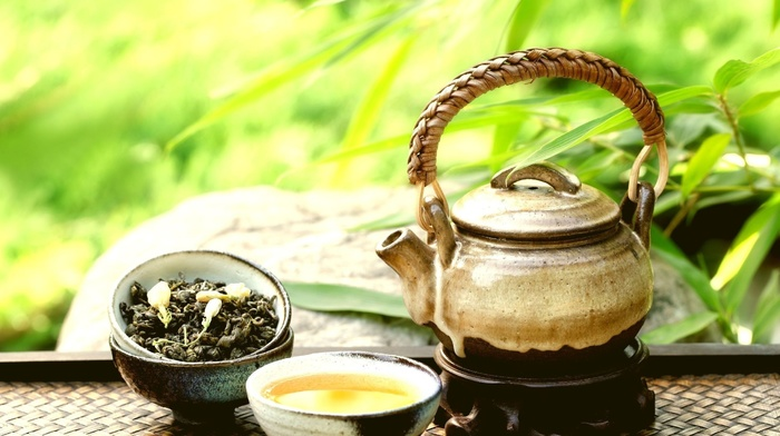 nature, tea, photography, plants, depth of field