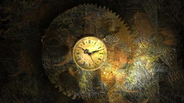 watch, gears, time, vintage, clocks, clockworks, Roman numerals