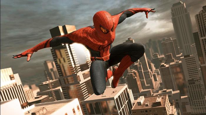 Amazing Spider, man, Marvel Comics, city, video games, Manhattan, superhero, New York City