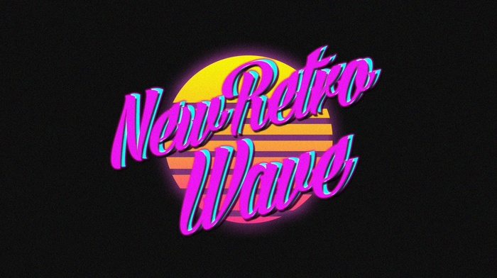 neon, synthwave, New Retro Wave, 1980s, vintage, retro games