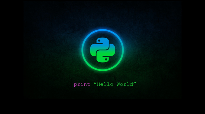 green, blue, Python programming