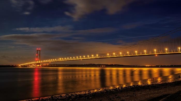 England, bridge, Humber Bridge