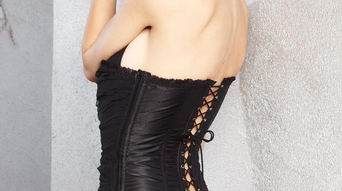 corset, Emily Ratajkowski, ass, model
