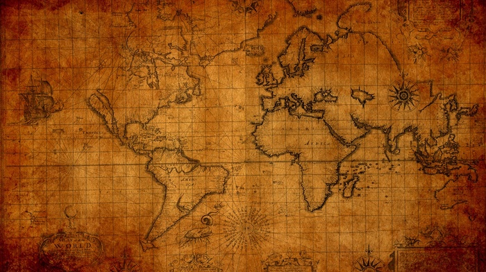 map, world map