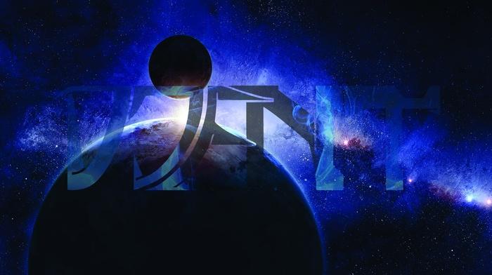 stars, space, planet, Djent