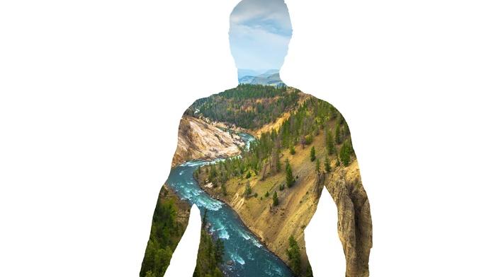 lake, Superman, nature