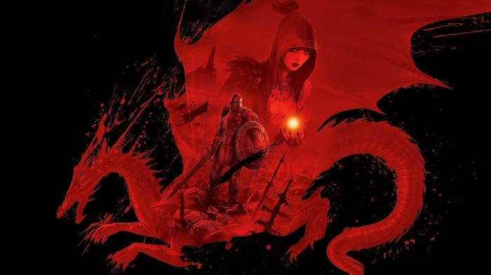 Dragon Age, Morrigan character, video games, Morrigan, Dragon Age Origins, fantasy art