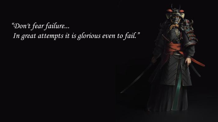 black, sword, katana, samurai, inspirational, bruce lee, quote, bushido