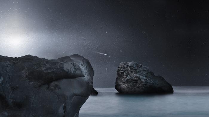 stars, 3D, space