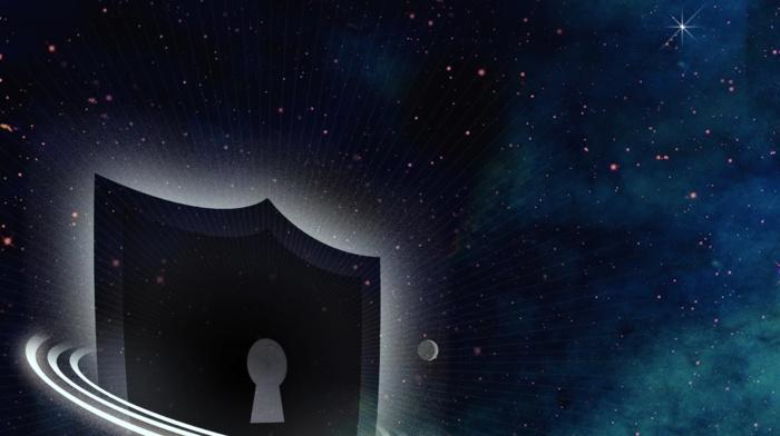 digital art, stars, space, Samsung Knox